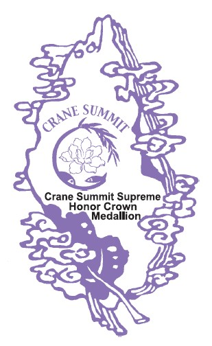 Crane Summit Supreme Honor Crown Medallion